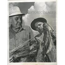 1949 Press Photo Sea Lamprey/Trout/Lake Michigan - RRW35667