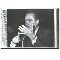 1967 Press Photo Former Gov. George Wallace Alabama