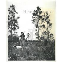 1961 Press Photo sunny Florida glass Pheasant wizened - RRX88521