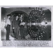 1955 Press Photo Washington Yonan Codex National Saving - RRW03983