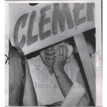 1953 Press Photo White House Grief - RSC73703
