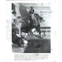 1913 Press Photo Newell Convers Wyeth American Artist & Illustrator - RSC70925