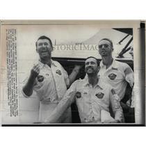 1968 Press Photo Walter Schirra Donn Eisele Walter crew - RRW67907