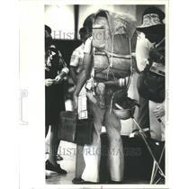 1972 Press Photo Ohare Airport Passengers - RRU80927