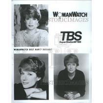 Press Photo Womanwatch Host Nancy Dussault - RSC81733
