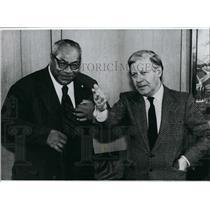 Press Photo Federal Chancellor Helmut Schmidt - KSB52051