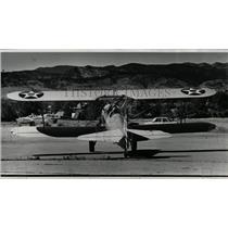1980 Press Photo Old Air Plane Rebuilt - RRX61573