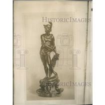 1914 Press Photo Statue of Soldier - XXB12047