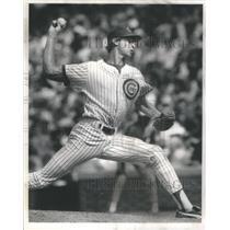 1991 Press Photo Bob Scanlan Baseball Chicago Cubs - RSC86077