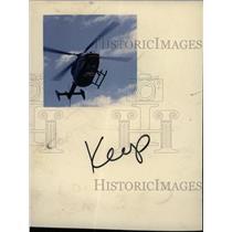 1986 Press Photo Detroit Hospital Helicopter - RRW71147