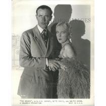 1932 Press Photo H.B Warner The Manace Actor - RSC59641