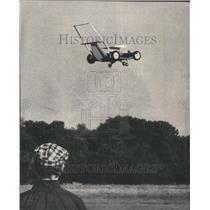 1974 Press Photo Lawnmower Model Airplane - RRU80495