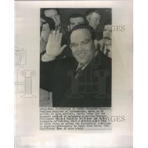 1961 Press Photo Mohammed Masmoudi Tunisia - RSC80023