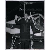 1969 Press Photo Roman Sheriff Gribbs civic center jet - RRX60339