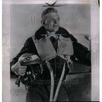 1952 Press Photo Captain Iven Carl Kimcheloe Ace Flier - RRX31067