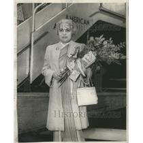 1949 Press Photo Vijayalashmi Pandit India ambassador Chicago West Coast Nehru