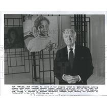 Press Photo Walter Cronkite American Broadcast Journalist - RSC34091