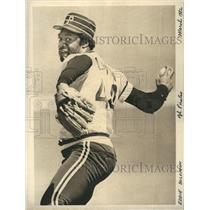 1982 Press Photo Eddie Solomon of the Pittsburgh Pirates - XXB12153