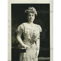 1911 Press Photo Mrs TP O Connor British Parliament Wife In Washington