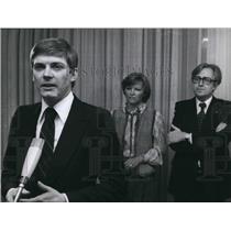 Press Photo Hanns Eberhard schleyer has been sworn in as state secretary