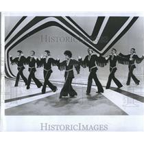 1969 Press Photo Lena Horne and the Claude Thompson dancers