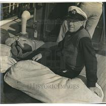 1941 Press Photo Garner Tollis of the Coast Guard