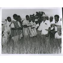 Press Photo Natives of Ghana - RSH83411
