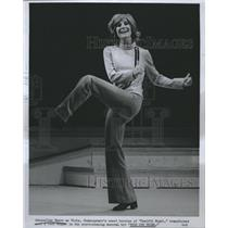 """1969 Press Photo Jacqueline Mayro on """"Your own thing"""""""