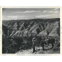 1974 Press Photo The Imnaha river cuts a canyon through northeastern Oregon