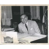 Press Photo Fulgencio Batista, Cuban President, dictator &military leader