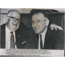 1962 Press Photo Jack Adams Sid Abel  - RSH29369