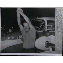 1961 Press Photo Max Conrad Pilot - RRX53841