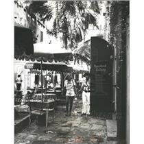 1976 Press Photo St. Thomas  Caribbean Shopping Haven.