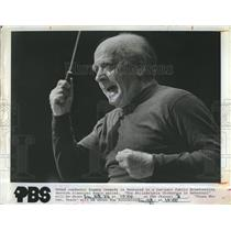 1971 Press Photo Eugene Ormandy, Philadelphia Orchestra.