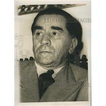 1947 Press Photo George Tatarescu Vice Premier Foreign Minister of Romania