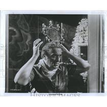 """1976 Press Photo Federico Fellini director of """"Fellini's Casanova"""""""