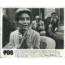 """1972 Press Photo Dorothy McGuire,Barry Sullivan,Kent Smith """"Another Part of the"""