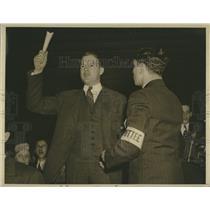 1940 Press Photo Stephen McArthur Youth Congress Institute Washington