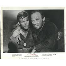 """1964 Press Photo Jack Warden in """"The Thin Red Line"""" - RSH97755"""