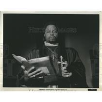 "1973 Press Photo Roger Mosley in ""Sweet Jesus, Preadurmon"""