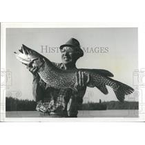 1964 Press Photo Joseph fish Pike