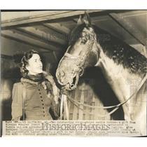 1946 Press Photo Russian Premier Gift Horses Joseph Stalin