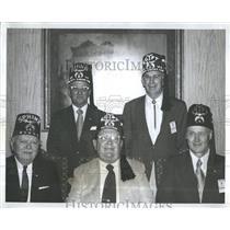 Press Photo Shriners at a meeting - RSH97017