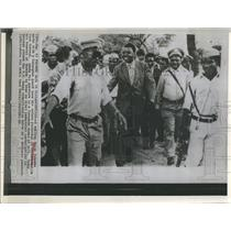 1963 Press Photo Moise Tshombe Congo Politician Elizabethville
