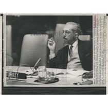 Press Photo Orhan Eralp,Turkish Ambassador - RSH94515