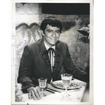 1968 Press Photo Henry Darrow Puerto Rican-American character actor.