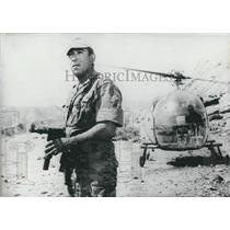 1966 Press Photo Anthony Quinn as Commander Raspeguy