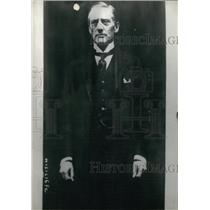 1922 Press Photo Unionist Leader and Lord Privy Seal Austen Chamberlain