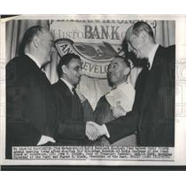 1949 Press Photo Governors Chintaman Desmukh Chairman
