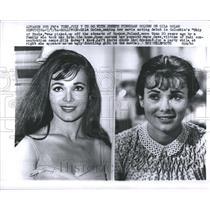 1964 Press Photo Gila Golan Actress Fashion Model